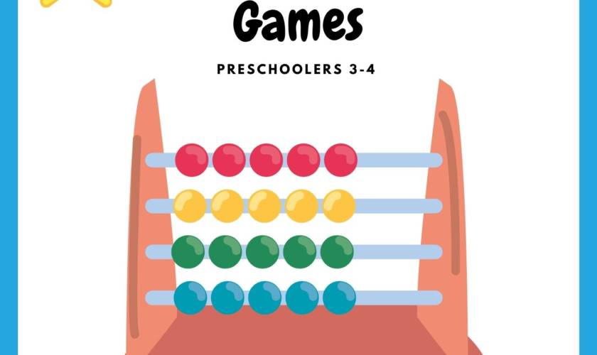 Cool Math Games For Preschoolers Debbie Doo