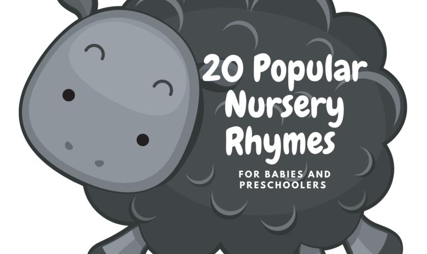20 Popular Nursery Rhymes for Babies and Preschoolers Debbie Doo