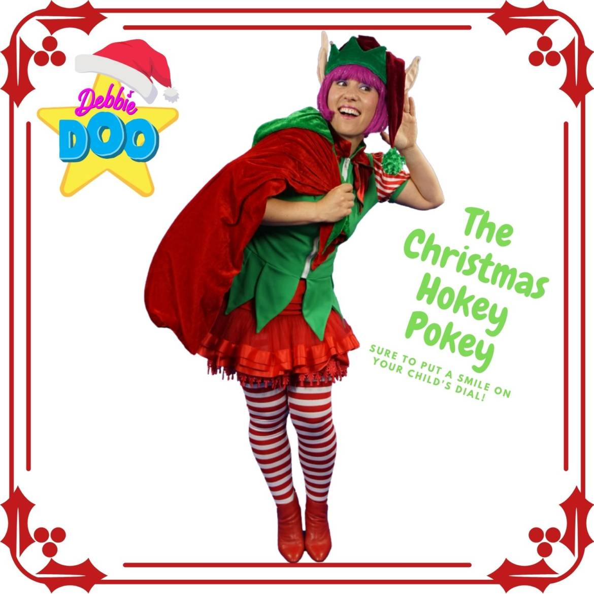 The Christmas Hokey Pokey a Feel Good Musical Activity For Kids and Grown Ups too! Debbie Doo🎄