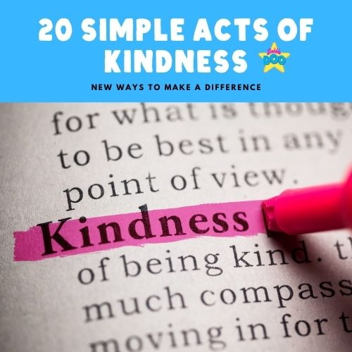 20 Simple Acts of Kindness New Ways to Make a Difference