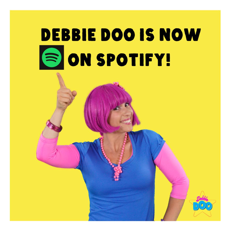 Debbie Doo is now on Spotify!